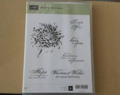 Stampin' Up! blooming with kindness stamp set - brand new