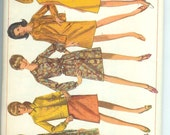 Simplicity Misses  One- Piece DRESS and Coat-Dress or unlined Jacket Sewing Pattern 7013 Size 18 Bust 38 UNCUT