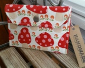 1/2 OFF Woodland Mushrooms Wallet Snap Case Gnome Gnomes Mushroom