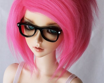 SD Doll  fake fur wig in Hot pink  Monstrodesigns