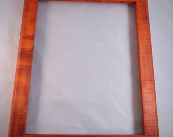 11x14  Curly Maple with Orange Dye Picture Frame