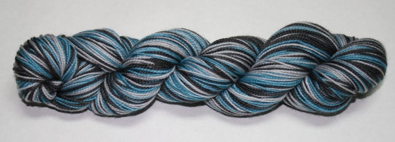 Eagles Self Striping Hand Dyed Sock Yarn