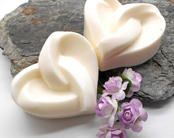 Handmade Soap, Goat's Milk Soap - Lavender Love Knot, Thank You, Wedding Favor, Party Favor, Tie the Knot, Valentine, Mom, Heart