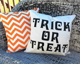Trick or Treat 18x18 Pillow Case
