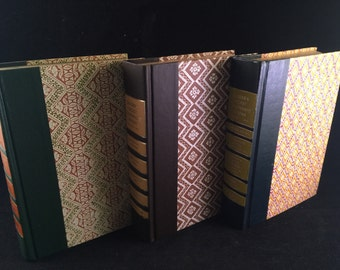 3 Vintage Reader Digest Books Beautiful Covers Decorative Book