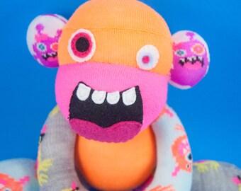 Monster Sock Monkey