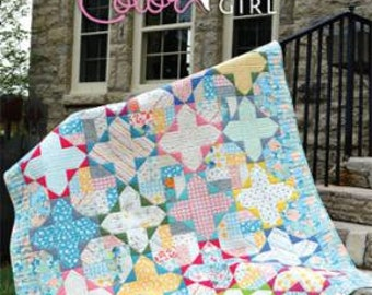 SALE Gossamer Quilt PATTERN by Color Girl