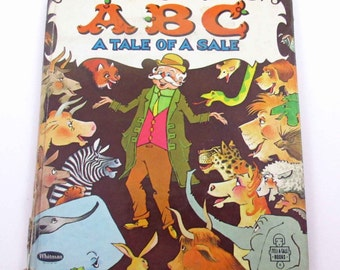ABC A Tale of a Sale Vintage 1960s Whitman's Children's Book by Joyce Hovelsrud