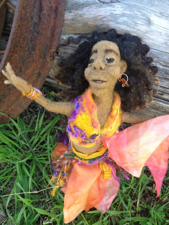Orianna Needle Felted Figure