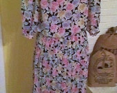 Vintage Leslie Fay size 8 Keeping Up Appearances Hyacinth Bucket dress