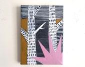 Birch // Original Acrylic Painting // 5X7