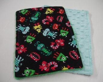 Friendly Monsters Baby Quick Wipe Set READY TO SHIP On Sale