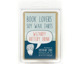 Wizardy Buttery Drink -- Book Lovers' Scented Tart -- 3oz pack