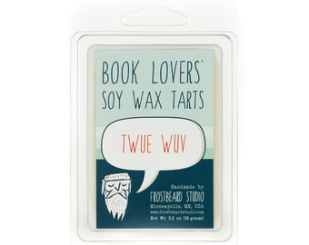 Twue Wuv -- Book Lovers' Scented Tart -- 3oz pack