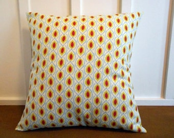 pillow cover cushion cover decorative pillow geometric leaf 20X20