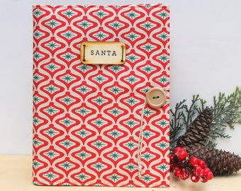 personalized santa photo brag book photo album