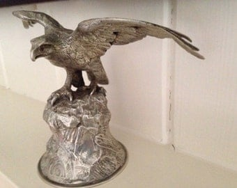 Antique Silver Eagle Ornament