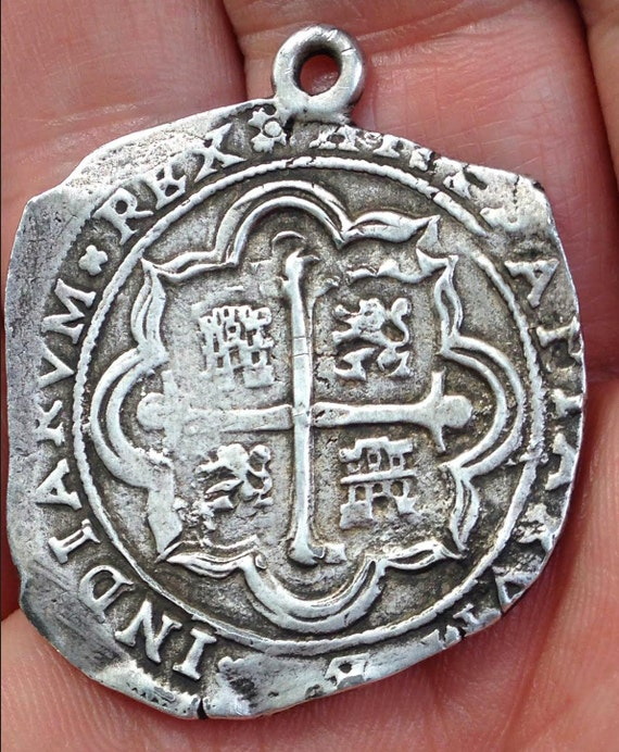 Silver Pendant Labeled 1714