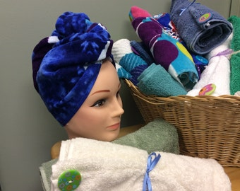 Towel Hair Wraps