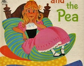 The Princess and the Pea Tip Top Elf Book 8727 A Rand McNally Book 1965 Anne Sellers Leaf Illustrator