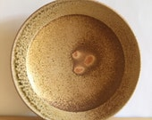 Plate, wood and soda fired porcelain