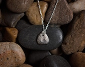 Pebble Pendant Sterling Silver