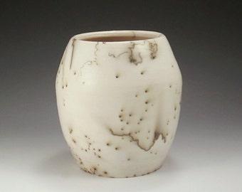 Pottery Vase - Raku Horsehair