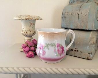 Germany German Lustreware Cup Mug Roses Shaving Mug Coffee Tea?