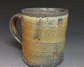 Iridescent Soda Fired Coffee Mug