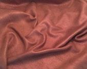 ON SALE METALLIC Sparkle Mauve Supple Lambskin Leather Hide Piece #5