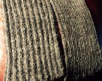 Luxury Llama Handknit Scarf