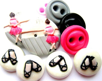 Ready to Ship Dance set of 10 buttons