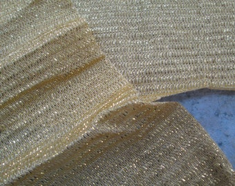 Shimmery Gold Fabric