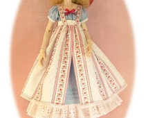 Gracefaerie pattern 44, Seasons for Seola; 4 dresses and a petticoat for Dollstown Elf body and others with similar bodies.