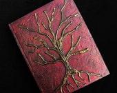 Large Gold Tree Of Life Sketchbook Art Journal
