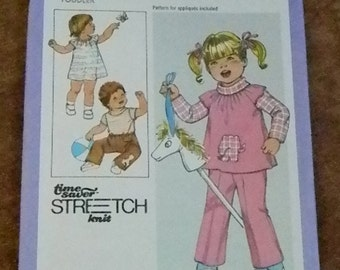Vintage Simplicity Dress, Tunic, Top and Pants Pattern # 8595, uncut, Multisized