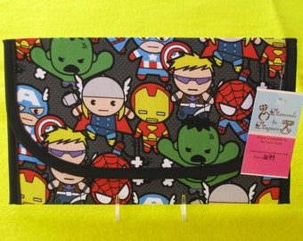 Baby Avengers Kawaii Diaper and Wipes Case Holder Clutch