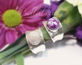 Made with Your Flower Petals, Memorial Jewelry, Personalized Jewelry, Arabella Ring