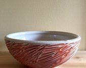 Red Pasta Bowl