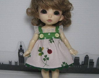 Four-leaved Clover  Dress for Lati Yellow, Pukifee