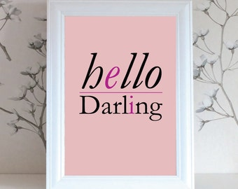 Hello Darling 4 Piece Digital Download
