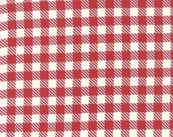 Volume II (5616 12) Gingham in Apple Red by Sweetwater