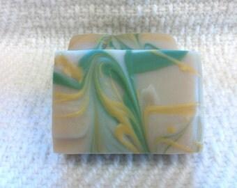 Island Margarita Goat Milk Soap 4 oz bar