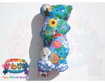 Kawaii Universe - Cute World Peace - Handcrafted - Designer Plush Pillow