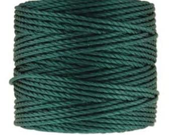 S-Lon Tex 400 Green Blue Multi Filament Cord 35 yard Spool