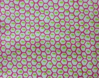 Sale-one yard of cotton fabric (Anna Griffin, Carmen Collection)