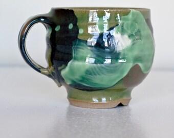 celadon tea mug
