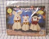 All Stuffed Up Reindeer Family Felt Kit