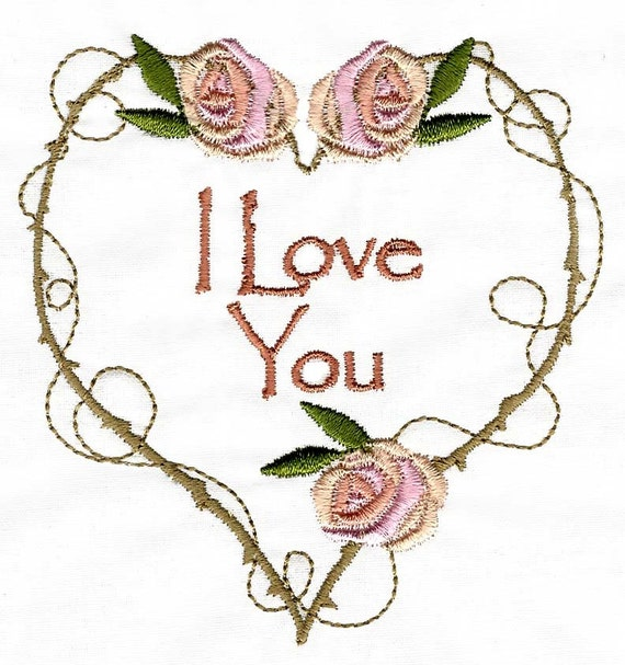 My funny valentine machine embroidery designs