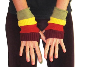 Striped Arm Warmers - The Start of the Rainbow